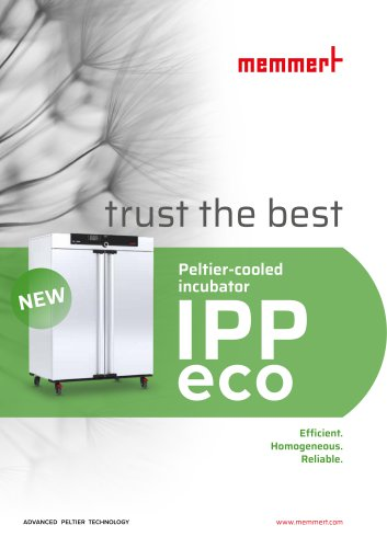 Flyer Peltier-cooled incubator IPPeco