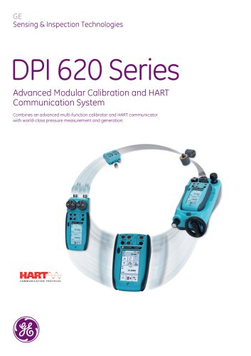 Advanced modular calibrator dpi 620 brochure