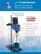 Cole-Parmer® IKA mixers brochure - 1