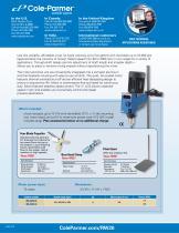 Cole-Parmer® IKA mixers brochure - 2