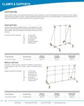 Cole-Parmer® lab-frame kits brochure - 2