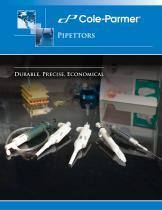Cole-Parmer® pipettors - 1