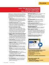 Fluke 750 series brochure - 2