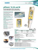 pHTestrs® 10, 20, and 30 - 1