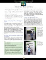Protector ® Echo™ Filtered Fume Hoods - 3