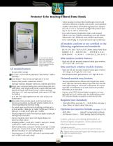 Protector ® Echo™ Filtered Fume Hoods - 4