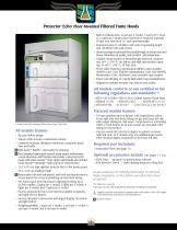 Protector ® Echo™ Filtered Fume Hoods - 8