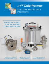 Sanitary and sterile products brochure - 1