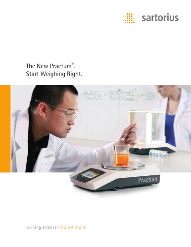 Sartorius - The New Practum