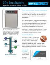 SCO6AD High Heat Decontamination CO2 Incubator