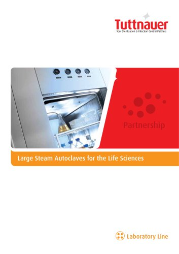 Large Steam Autoclaves for the Life Sciences