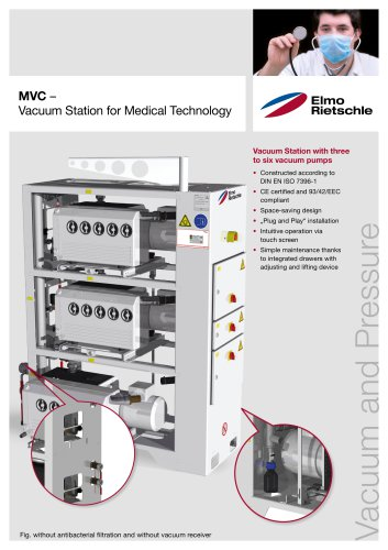 MVC  – Vacuum Station for Medical Technology