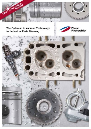 The Optimum in Vacuum Technology  for Industrial Parts Cleaning