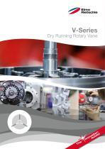 V-Series Dry Running Rotary Vane