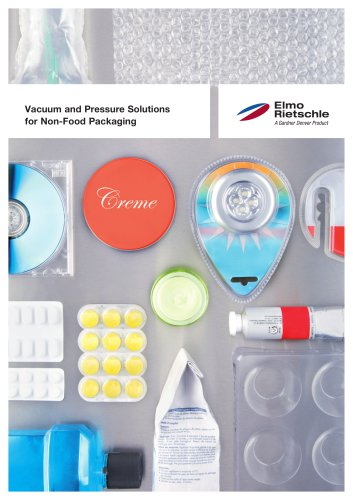 Vacuum and Pressure Solutions for Non-Food Packaging