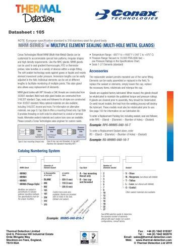 Conax Multiple Custom Element Feedthrough (MHM)