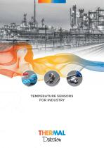 Temperature Sensors for Industrial Products