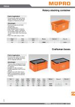 Rotary stacking container - 1
