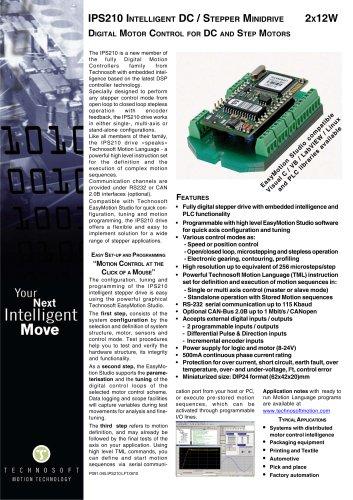 IPS210 INTELLIGENT DC / STEPPER MINIDRIVE