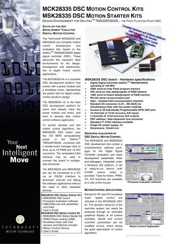 MCK28335 DSC MOTION CONTROL KITS