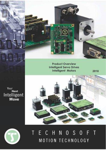 Product Overview Intelligent Servo Drives Intelligent motors