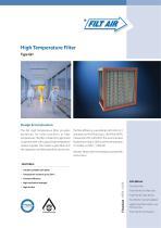 GH – High Temperature Filter