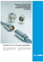 Broadcast 4E triaxial connector - 1