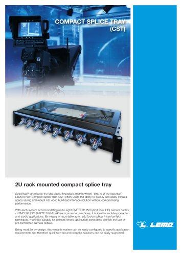 compact splice tray