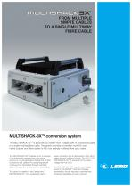 MULTISHACK3X: FROM MULTIPLE SMPTE CABLES TO A SINGLE MULTIWAY FIBRE CABLE - 1