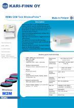 REMU GSM Tank WirelessProbe™