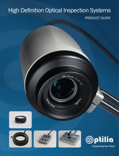 HD Inspection Systems Product Guide
