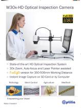 W30x-HD Optical Inspection Camera