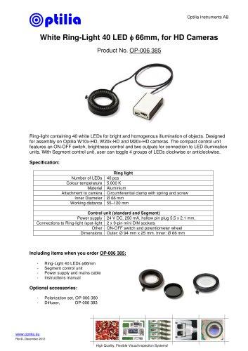 White Ring-Light 40 LED