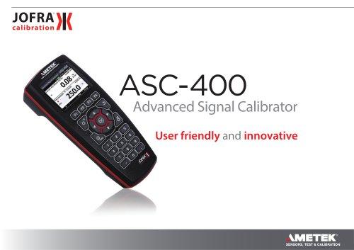 ASC-400 - Advanced Signal Calibrator