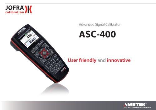 ASC-400 - Multifunction Signal Calibrator