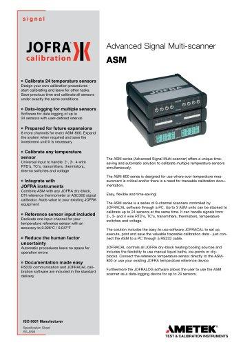 ASM Series - Signal Multi-scanner