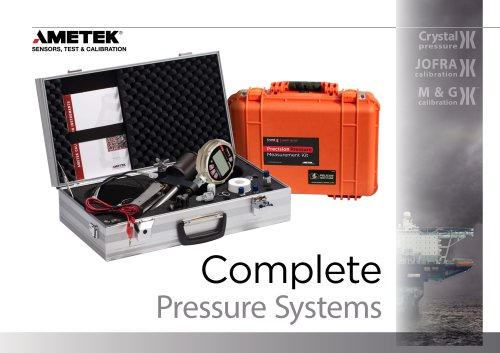 Complete Pressure System Brochure