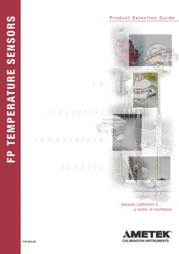 Industrial Temperature Sensors Selection