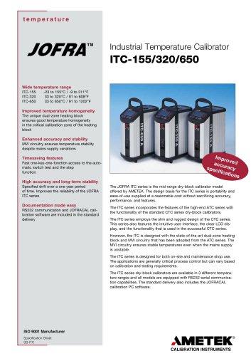 ITC Series - Dry-block