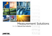 Measurement Solutions for the Natural Gas Industry