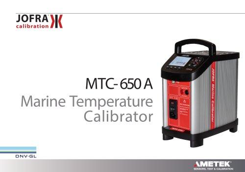 MTC 650A Spec Sheet