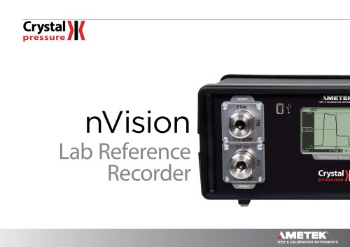 nVision Lab Brochure