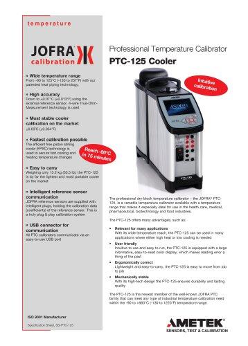 PTC-125 Cooler
