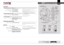 XP2i Pressure Gauge psi