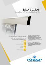 PORTALP - Automatic Doors Diva L CLEAN
