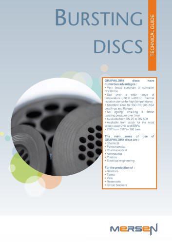 bursting discs - Technical guide