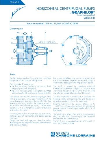 Centrifugal Horizontal Pumps