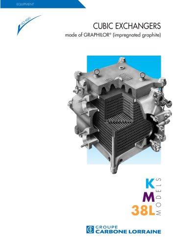 Cubic heat exchangers KM