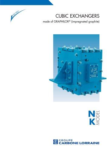 Cubic heat exchangers NK