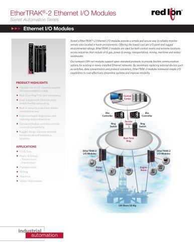 EtherTRAK®-2 Ethernet I/O Modules